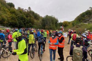 Radkorso Demo Radweg