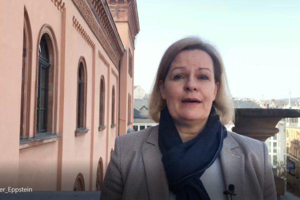 Nancy Faeser Radweg